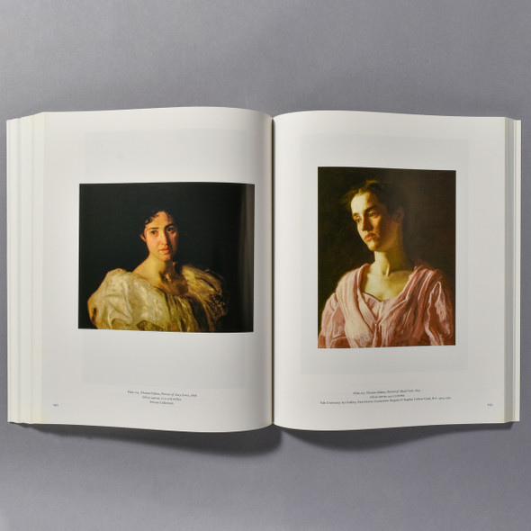 "Interior of the book ""Thomas Eakins"""