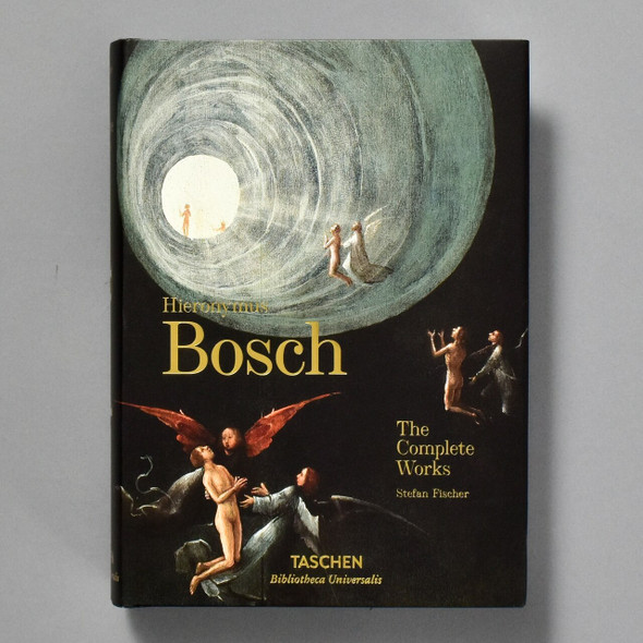 "Front cover of the book ""Bosch"" (Taschen)"