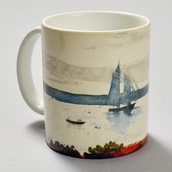 Homer: Two Sailboats Mug