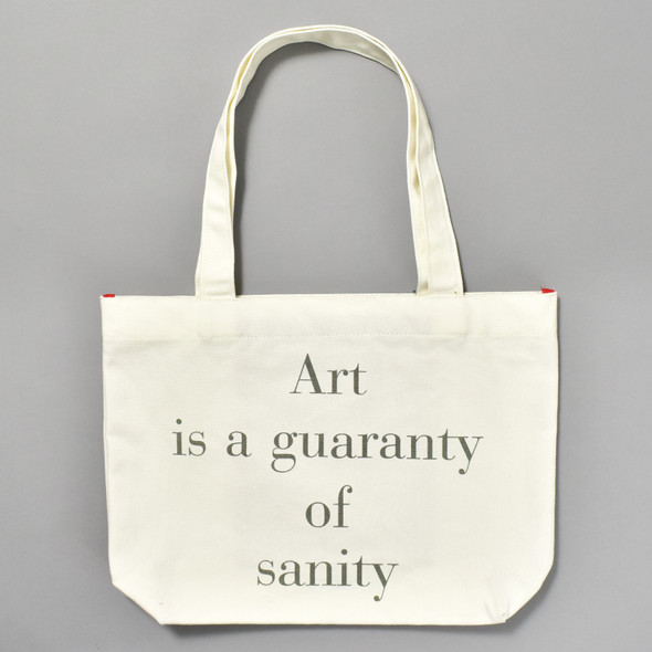 Louise Bourgeois: Art is a Guaranty of Sanity Tote, back