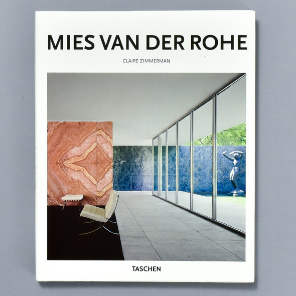 Front cover of the book Miles Van Der Rohe