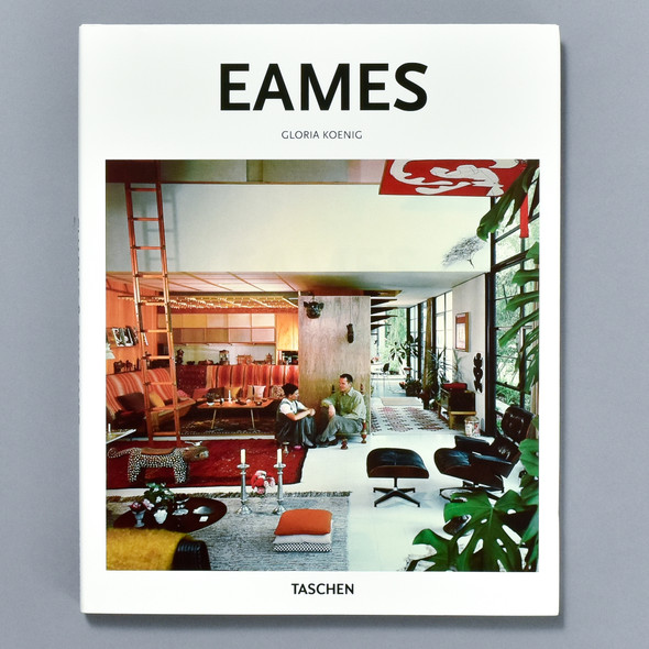 Front cover of the book Eames