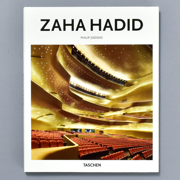 Front cover of the book Zaha Hadid
