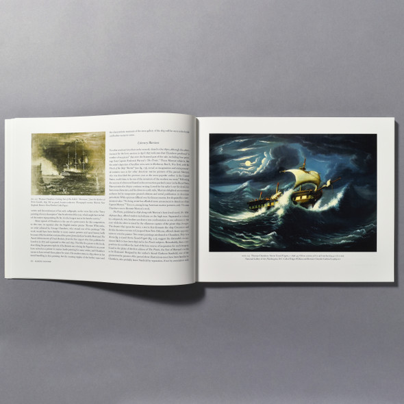 "Interior of the book ""Thomas Chambers: American Marine And Landscape Painter, 1808 - 1869"""