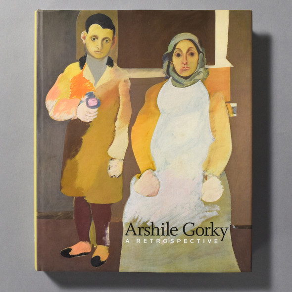 """Cover of the book """"Arshile Gorky: A Retrospective"""""""