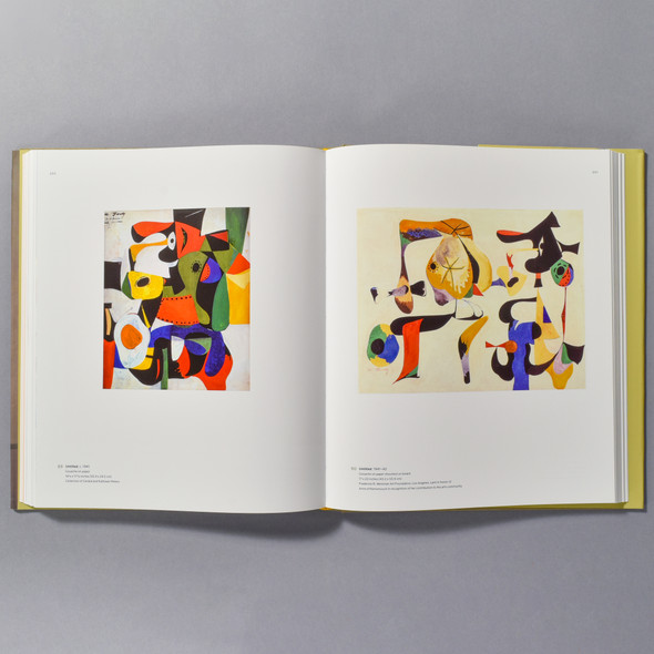 "Interior of book ""Arshile Gorky: A Retrospective"""
