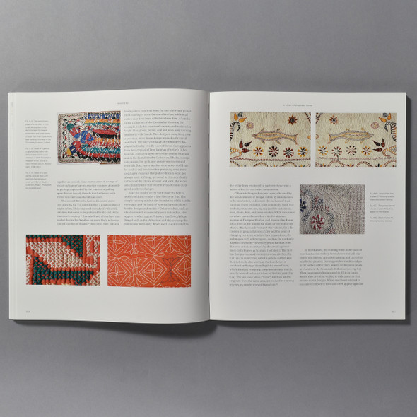 "Interior of the book ""Kantha: The Embroidered Quilts Of Bengal"""