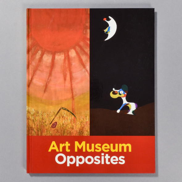"""Cover of the book """"Art Museum Opposites"""""""