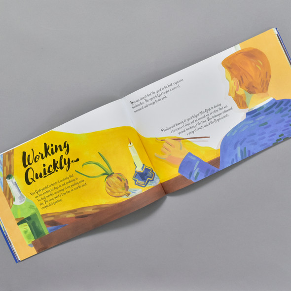 Pages from The Van Gogh Activity Book