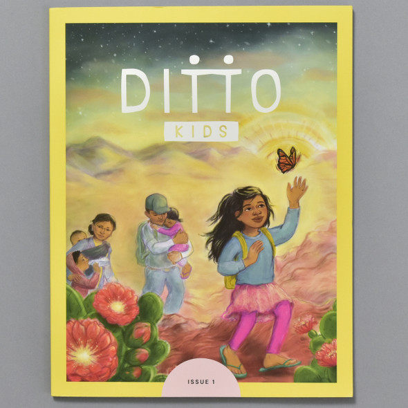 Front cover of Ditto Kids Magazine: Oct 2020
