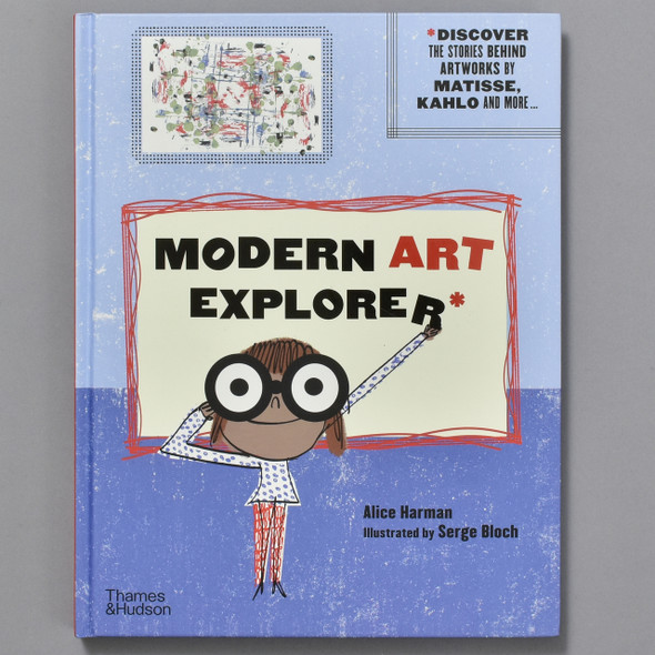 Front cover of Modern Art Explorer
