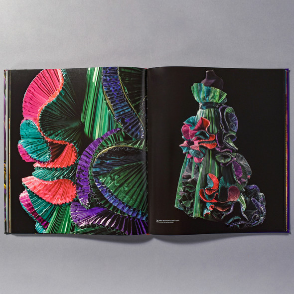 "Interior of the book ""Roberto Capucci: Art Into Fashion"""