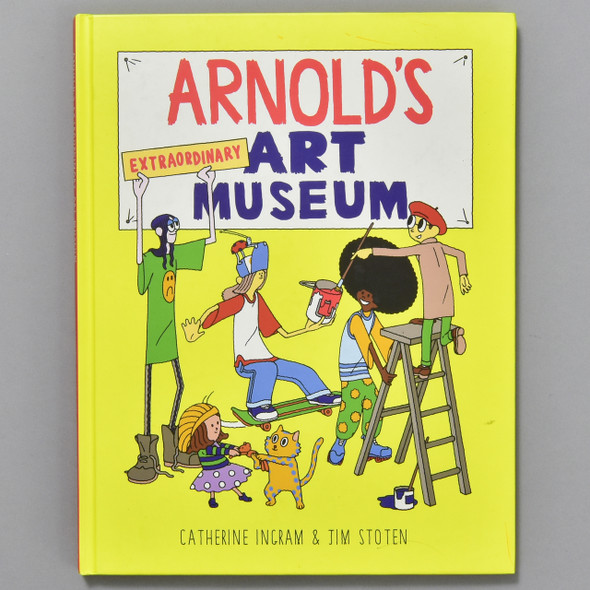 Front cover of Arnold's Extraordinary Art Museum