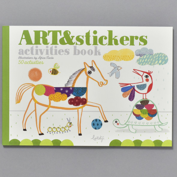 Cover of Art & Stickers Activities Book