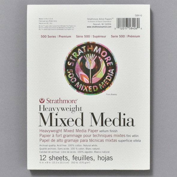 Strathmore Mixed Media Heavyweight Pad, cover