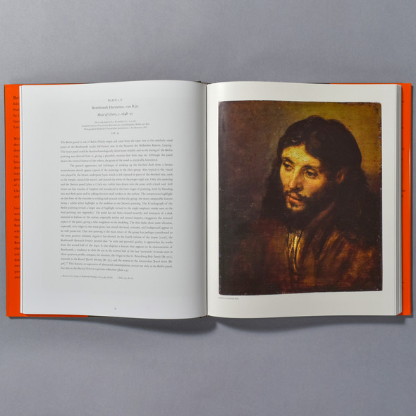 "Interior of the book ""Rembrandt And The Face Of Jesus"""