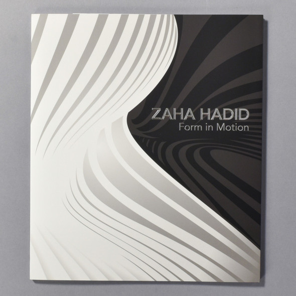 """Cover of the book """"Zaha Hadid: Form In Motion"""""""