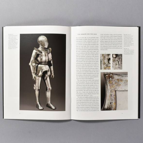 """Interior of the book """"Princely Armor In The Age Of Dürer"""""""