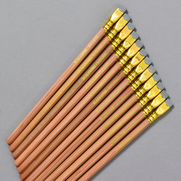 Blackwing Extra-Firm Graphite Pencils - Natural, pencils