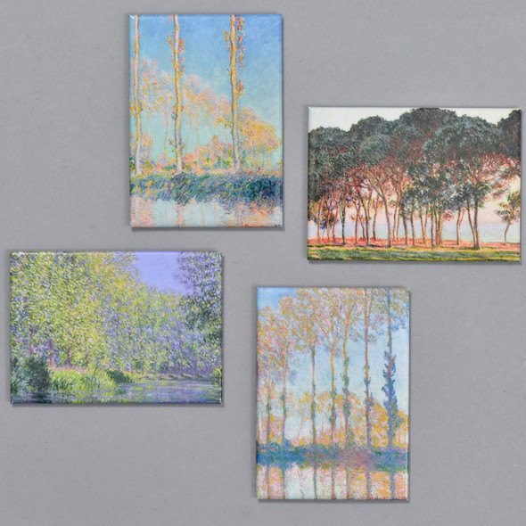 Monet Trees Magnet Set