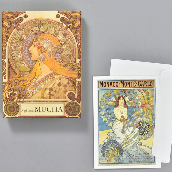Alphonse Mucha Notecard Set