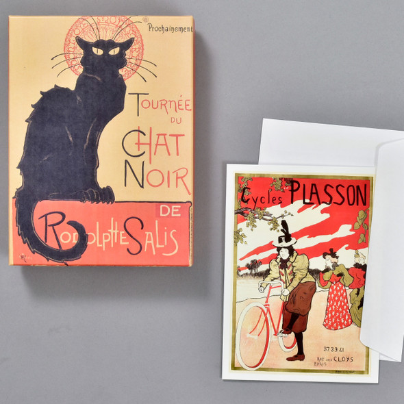 Classic French Posters Notecard Set