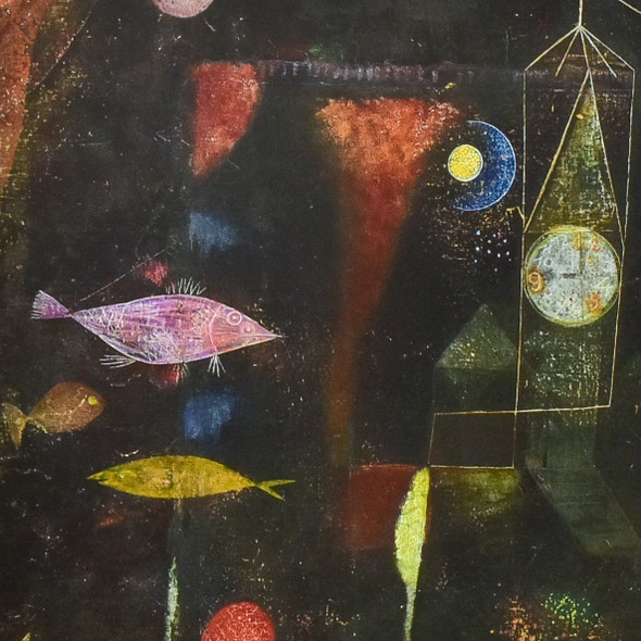 Paul Klee: Fish Magic Mini Poster, detail