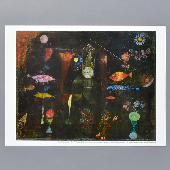 Paul Klee: Fish Magic Mini Poster