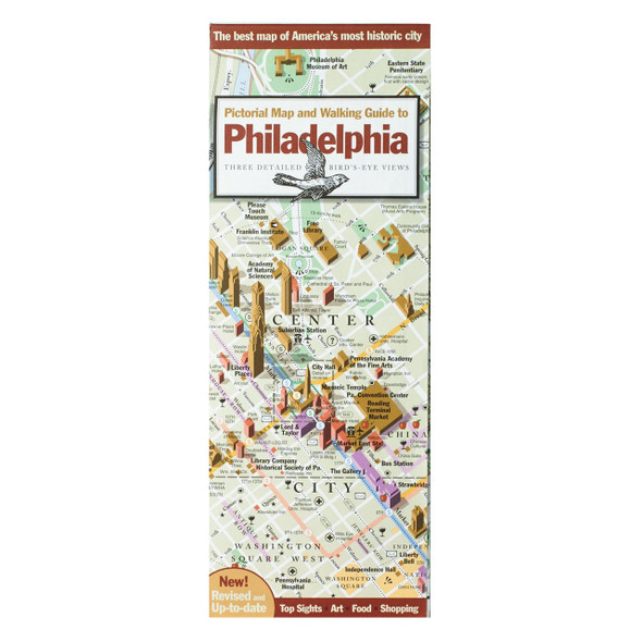 Cover of Philadelphia: Pictorial Map And Walking Guide