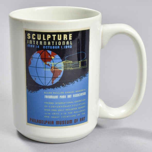 Sculpture International 1940 Exhibition Poster Mug