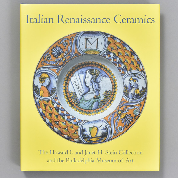 Front cover of the book Italian Renaissance Ceramics