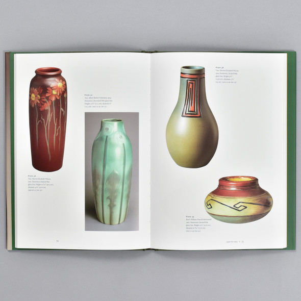 Pages from the book Rookwood Pottery at the Philadelphia Museum of Art