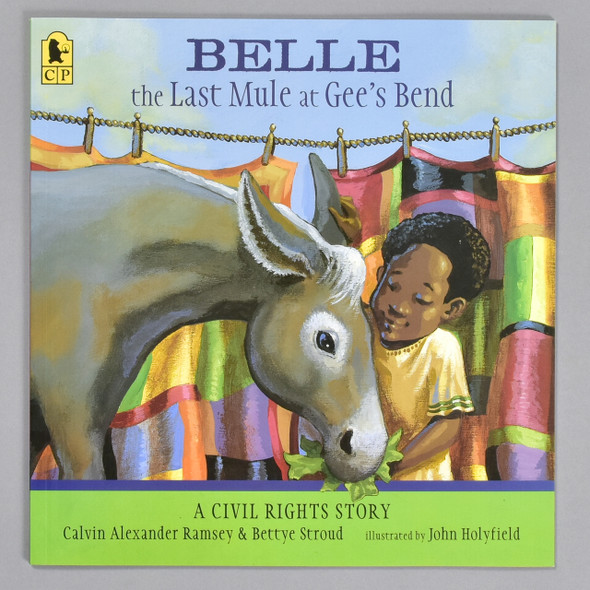 Front cover of the book Belle, the Last Mule at Gee's Bend