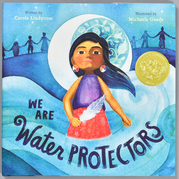 Front cover of the book We Are Water Protectors