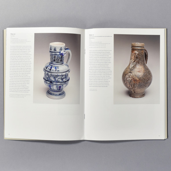 "Interior of the book ""The Art Of German Stoneware"""
