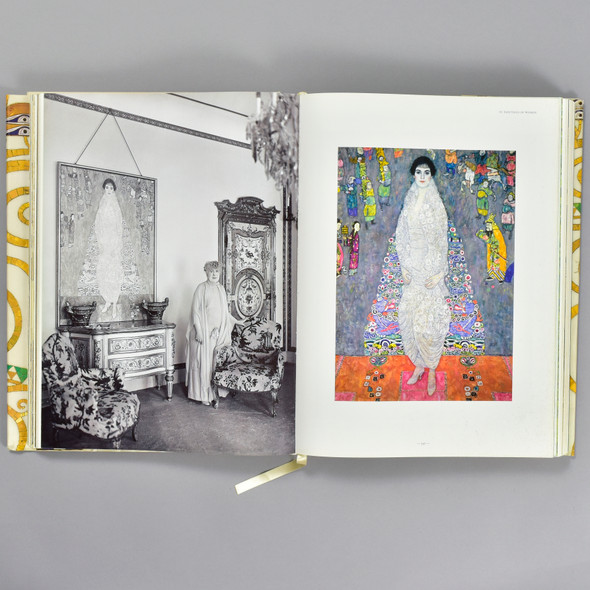 Pages from the book Gustav Klimt: The Complete Paintings XL