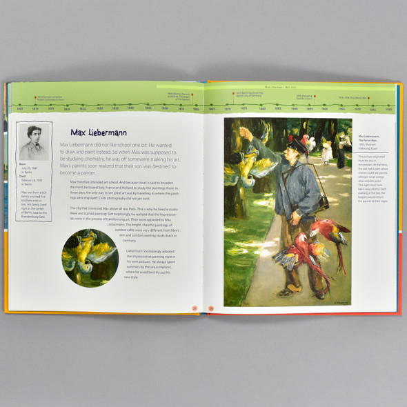 Pages from the book Impressionism: 13 Artists Children Should Know