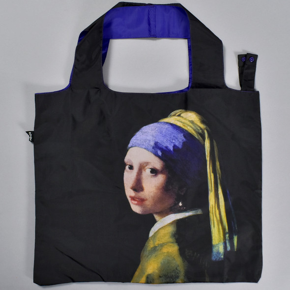 Vermeer: Girl with a Pearl Earring Folding Tote