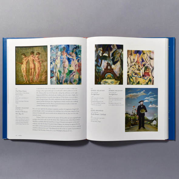 "Interior of the book ""Gauguin, Cézanne, Matisse: Visions Of Arcadia"""