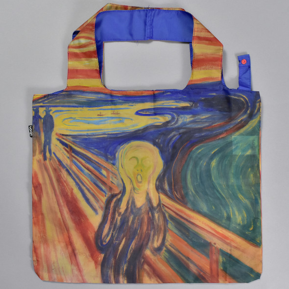 Munch The Scream Folding Tote