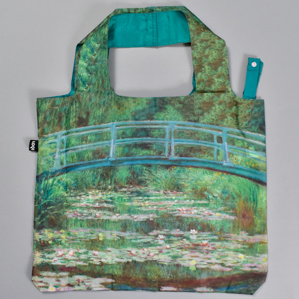 Monet Japanese Footbridge Folding Tote