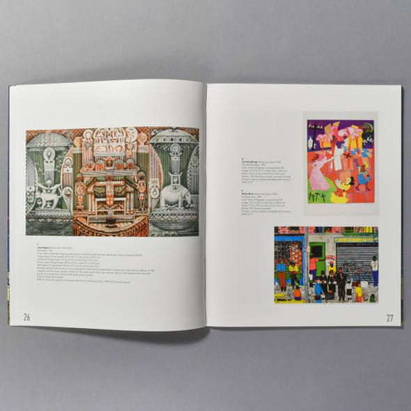 "Interior of the book ""Full Spectrum: Prints From The Brandywine Workshop"""