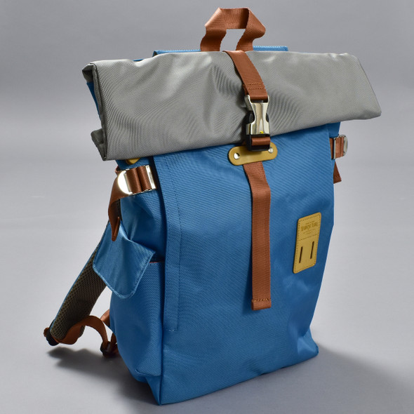 Roll-top Backpack - Ice Blue