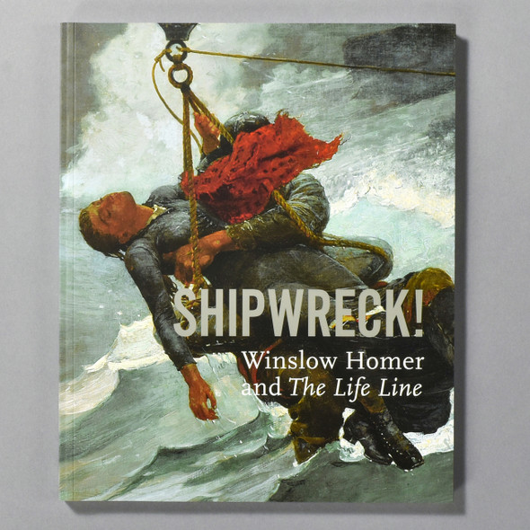 "Cover of the book ""Shipwreck!: Winslow Homer And The Life Line"""