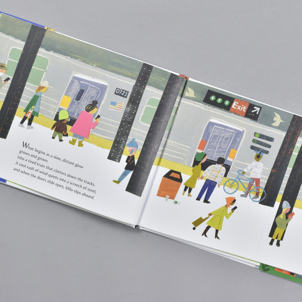 Pages from the book Milo Imagines the World