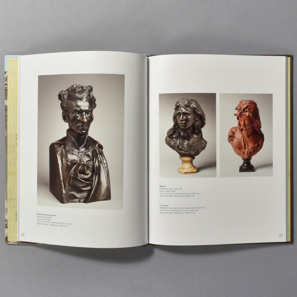 "Interior of the ""Rodin Museum Catalog"""