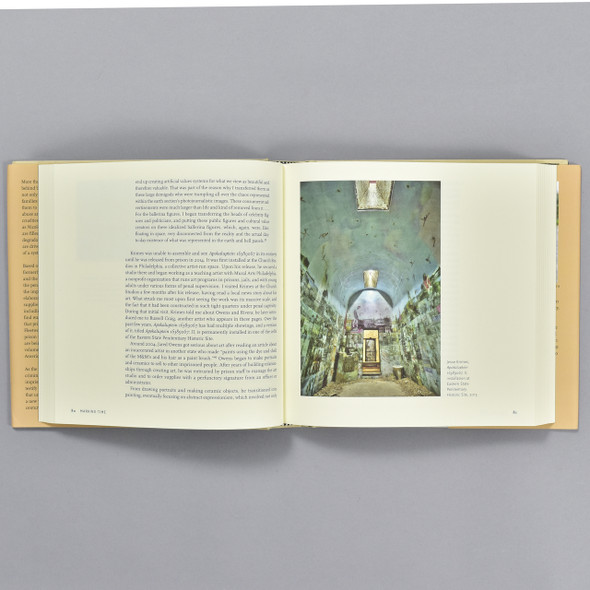 Pages from the book Marking Time: Art in the Age of Mass Incarceration