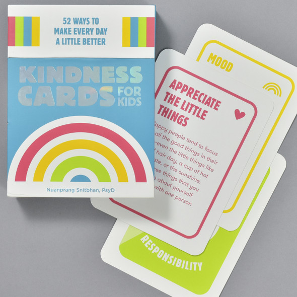 Kindness Cards for Kids: 52 Ways to Make Every Day A little Better, box and cards