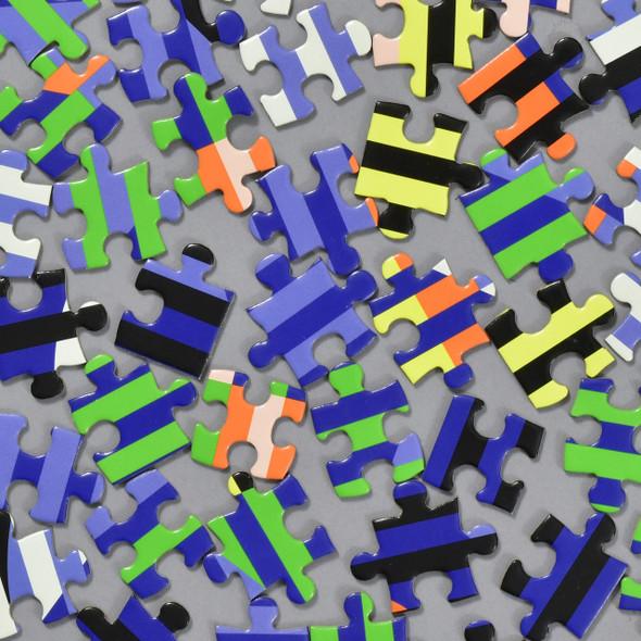 Lenticular Pattern Puzzle, pieces