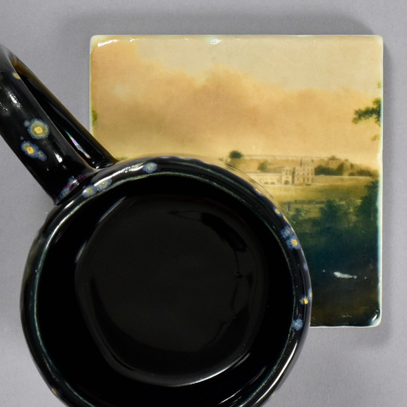 Thomas Doughty: View of the Fairmount Waterworks Tile by The Painted Lily, with mug